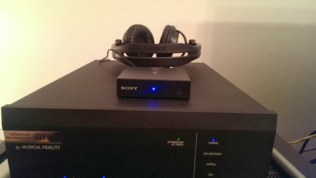 sony resiver