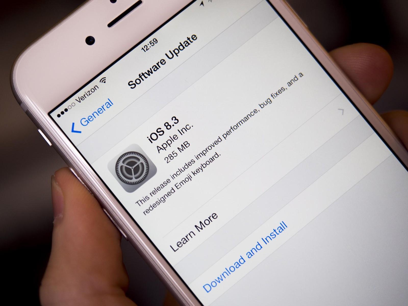 iphone bluetooth обновление